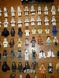 Lot De Figurines Lego Star Wars, Plus De 200, Plus Casques, Blasters, Sabres Légers