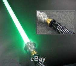 Luke Skywalker Force Fx Lightsaber Duels Lourd Rechargeable Poignée En Métal Au Royaume-uni