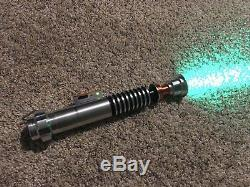 Luke Skywalker Hero Lightsaber Excellent Condition, Très Fort Et Très Lumineux