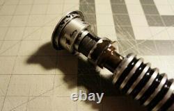 Luke Skywalker V2 Lightsaber Hilt Replica Entièrement Installé Neopixel Cfx10 Crystal