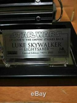 Luke Skywalker Wars Light Sabre Star Episode V L'empire Frappe Maître Réplique