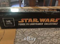 M. Master 2005 Réplique De Dark Vador Star Wars Force Fx Light Saber, À Collectionner