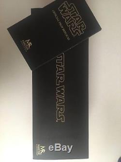 Master Replicas Count Dooku 11 Sabre Laser Sw105d Star Wars Limited Avec Signature