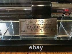 Master Replicas Star Wars Dark Vador Esb Sabre Laser Le Sw-117