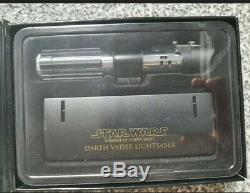 Master Replicas Star Wars Darth Vader Lightsaber. 45 Échelle Episode IV Un Nouvel Espoir
