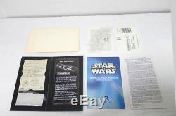 Master Répliques Dark Vador Lightsaber Star Wars Anh Édition Limitée Sw-106 Mib