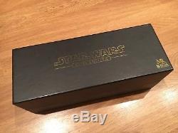 Master Répliques Obi-wan Lightsaber Elite Edition Star Wars Ep1 Sw-143