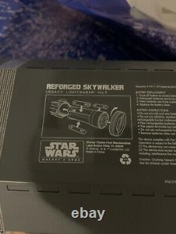 New Disney Star Wars Edge Galaxy Reforged Skywalker Rey Héritage Lightsaber Hilt