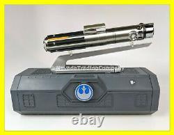 New Star Wars Galaxy's Edge Rey Luke Anakin Skywalker Legacy Sabre Laser Argent