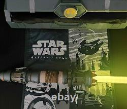 Nouveau 2021 Disney Star Wars Galaxy's Edge Rey Skywalker Hilt Legacy Lightsaber