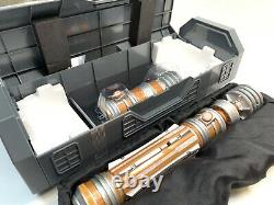Nouveau 2021 Parcs Disney Star Wars Galaxys Edge Leia Organa Legacy Lightsaber Hilt