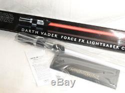 Nouveau Dans La Boîte Star Wars Master Replicas Sw-218 Darth Vader Force Fx Red Light Saber