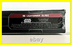 Nouveau Star Wars Galaxy Edge Rey Legacy Lightsaber 36 Blade Luke Anakin Skywalker