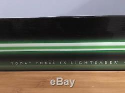Nouveau Star Wars Yoda Force Fx Lightsaber Signature Series Hasbro (vert)