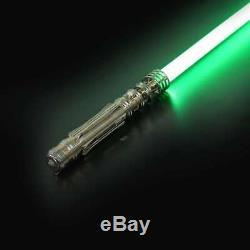 Nouvelle Princesse Leia Star Wars Lightsaber Duels Lourd Rechargeable Poignée En Métal