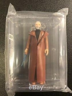 Obi Wan Kenobi Cas 85 Cheveux Gris 1977 Kenner Vintage Star Wars Léger Sabre En