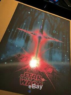 Patrick Connan Un Sabre De Lumière Dans La Pierre Affiche De Papier Peint De Star Wars Force Awakens