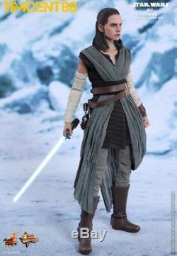 Prêt Hot Toys Mms446 Star Wars The Last Jedi 1/6 Rey Jedi Training Daisy Ridley