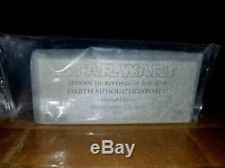 Répliques De Maîtres Darth Sidious Lightsaber Edition Limitée Star Wars Rots Sw-132