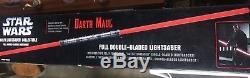 Répliques De Maîtres De Dark Maul - Sabre Laser Double Lame 2006 De Star Wars Force Fx