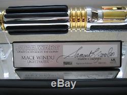 Répliques De Maîtres Sabre Laser Mace Windu Signature Edition