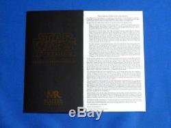 Répliques Maître Obi-wan Lightsaber Elite Edition Star Wars Ep1 Sw-143