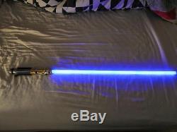 Répliques Maîtres Star Wars Force Fx Sabre Laser Mace Windu