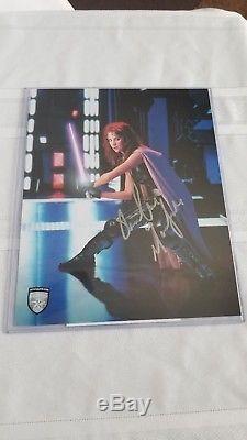 Répliques Master Star Wars Mara Jade Sabre Laser Signature Sw-174se # 259/750
