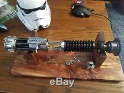 Roman Props Mk1 Sabre Et Rp Cristal Chambre Owk Sabre Laser Obi Wan