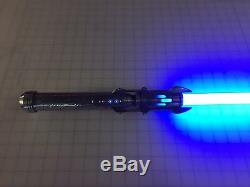 Sabre À Lumière Satélée Shan Neopixel Sound Fx Avec Labs Blade Et Plecter Prizm V5.1