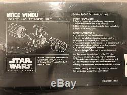 Sabre De Légende Edge De La Galaxie Legacy De Disneyland Star Wars, Lame Mace Windu + 36