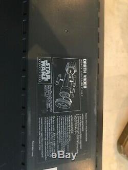Sabre De Légende Edge Legacy Legacy De Star Wars Darth Vader + 36 Lame + Carte D'ouverture
