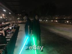 Sabre Laser Led 12w Avec Carte Son V3, Flash Sur Clash Et Rgb 11 Couleurs