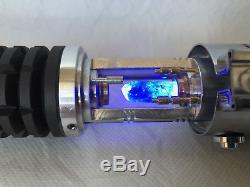 Sabre Laser Obi-wan Kenobi Avec Chambre De Cristal Éclairé