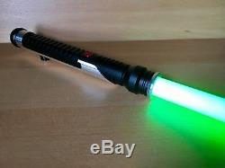 Sabre Laser Personnalisé De Star Wars Qui-gon Jinn