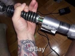 Sabre Laser Star Wars Sabre Rotj Luke Skywalker Replique Reveal Prop
