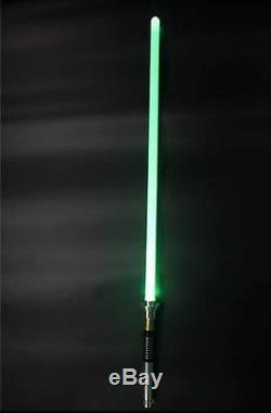 Sabre Laser Tout Métal L5 Personnalisé Avec Effets Sonores Et Lumineux! Plusieurs Couleurs