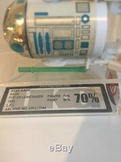Sabre Léger Pop Up Vintage Last 17 R2-d2 De Star Wars Classé Ukg 70% 80%