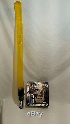 Sabre Optique Gonflable Kenner Vintage Star Wars Utilisé Dans Une Boîte