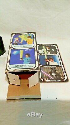 Sabre Optique Gonflable Vintage Star Wars Kenner Utilisé Dans Une Boîte