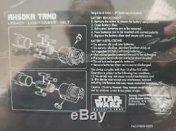 Sabres De Légende Edge De La Galaxie Star Wars Ashoka Tano + 36/36 Lames De Dok-ondar