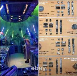 Savis Workshop Lightsaber (you Design) Star Wars Galaxy's Edge Savi's Workshop