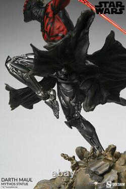 Sideshow Collectibles Star Wars Darth Maul Mythos 1/5 Statue À L'échelle