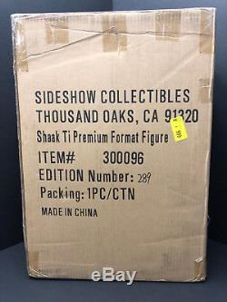 Sideshow Premium Format Shaak Ti Échelle 1/4 # 289 Sabre Laser