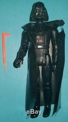 Star Wars 1977 Darth Vader Action Figure Avec Light Saber Et Cape First 12
