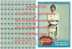 Star Wars 1977 Luke Sabre Laser = Affiche Pas De Cire Pack 3 Tailles Jusqu'à 4 1/2 Ft