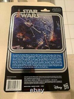 Star Wars 40ème Anniversaire Luke Skywalker X-wing Pilot Exclusive Black Series