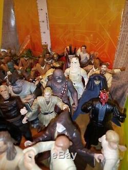 Star Wars Action Figure Beaucoup Lâche 3,75 52 Chiffres! Capes Lumière Armes Sabres