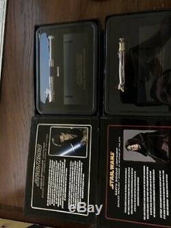 Star Wars Anakin / Dark Sidious Limited Rare Light Saber