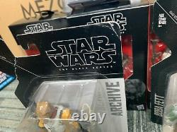 Star Wars Black Series Chasseurs De Primes Lot Bossk Dengar Zuckuss Boba Fett 4-lom